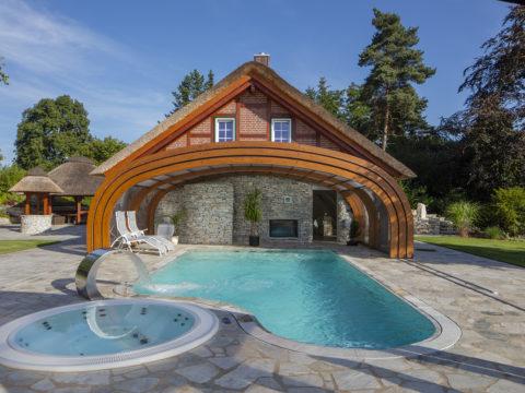 Abri de piscine Type Rotonde