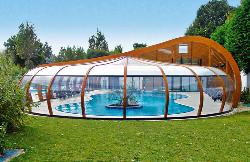 Abris piscine d 39 exception for Piscine 25m